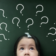 girl with questions