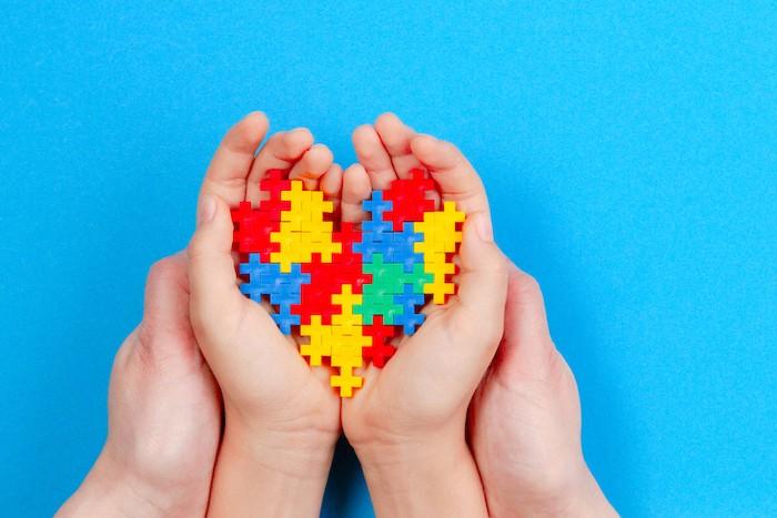 Autism hearts